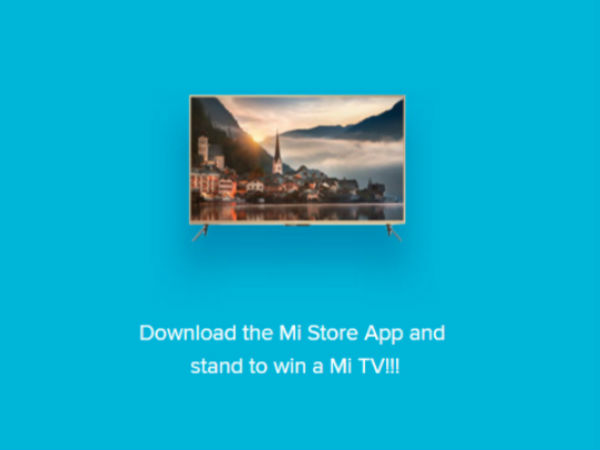 Win a bumper prize: Mi TV