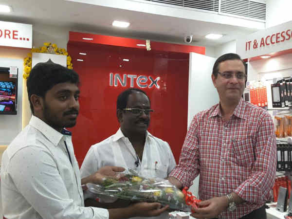 Intex Technologies Opens 9th Smart World Store in Chennai