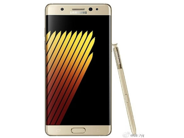 Renders of Gold Samsung Galaxy Note 7 Surfaced Online!