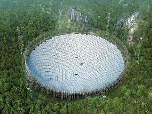 Installation of world's largest radio telescope completed