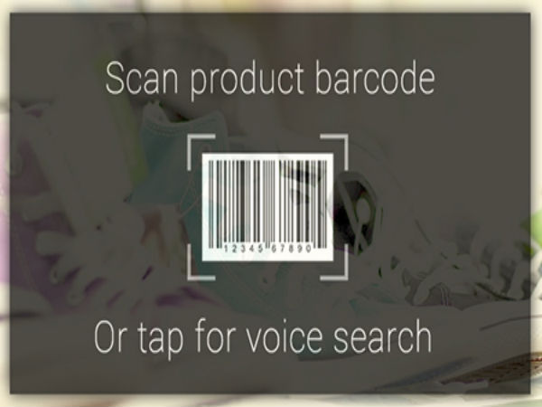 Scan Barcode