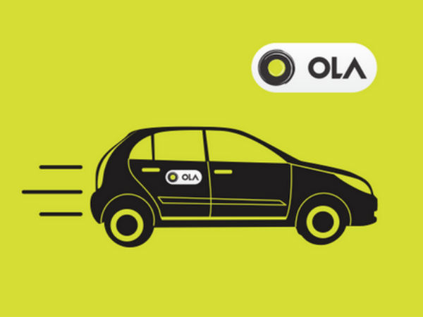 Now book Ola rides on Via.com for a better experience