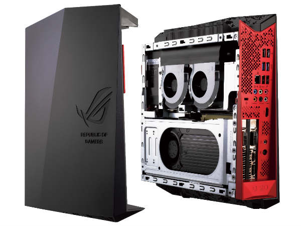 Asus G20CB: first desktop with NVIDIA Pascal GeForce GTX1080 GPU
