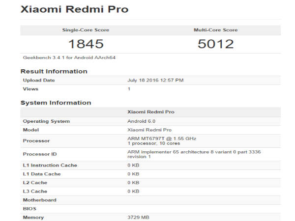 CONFIRMED! Xiaomi Redmi Pro with Deca-Core Processor Coming on July 27