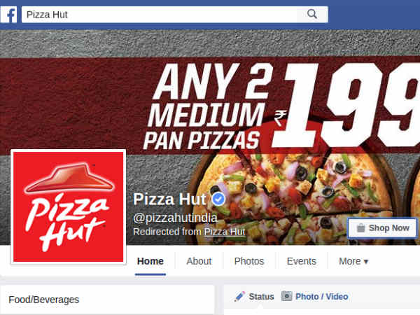 Now, Pizza Hut Will Take Your Orders From Facebook and Twitter