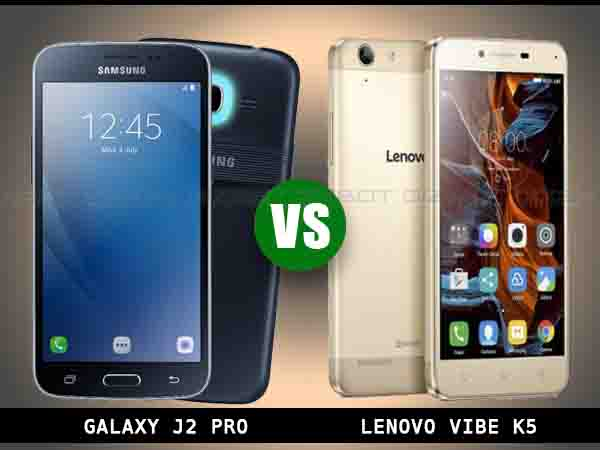 Samsung Galaxy J2 Pro vs Lenovo Vibe K5: Here's Another War of Phones