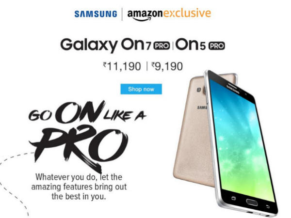 Samsung Galaxy On5 Pro and Galaxy On7 Pro Launched in India!