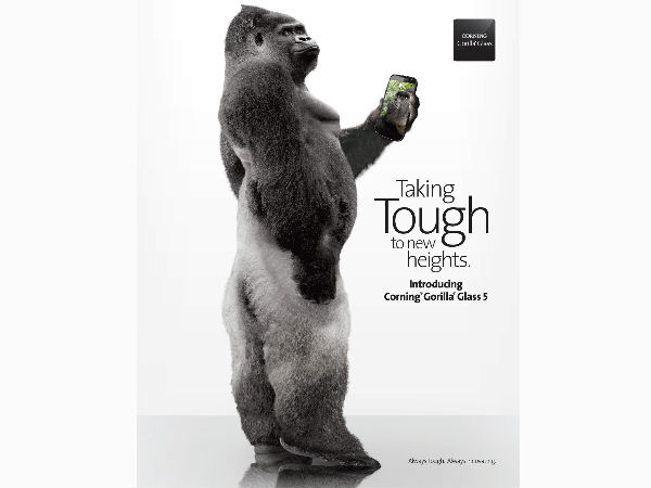 Corning Unveils Corning Gorilla Glass 5 for Future Smartphones