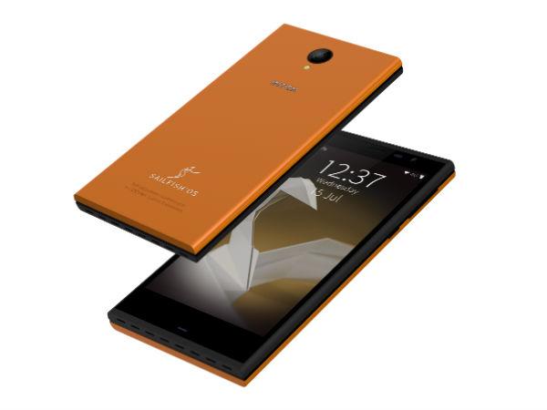 Intex Launches India's First Sailfish OS Aqua Fish Smartphone!