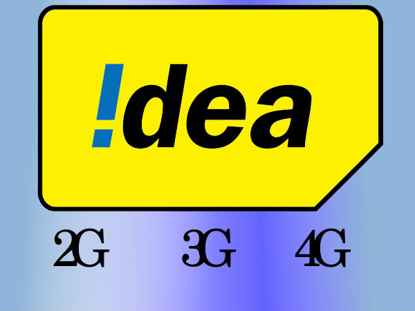 Idea Internet rates to offer up to 45% more on 4G, 3G and 2G Data pack