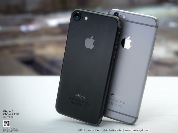 Take a Look at the Sizzling Space Black iPhone 7 Renders!