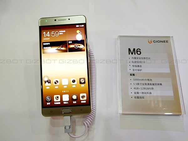 Gionee Launches M6 and M6 Plus with Extra Security and Battery Life