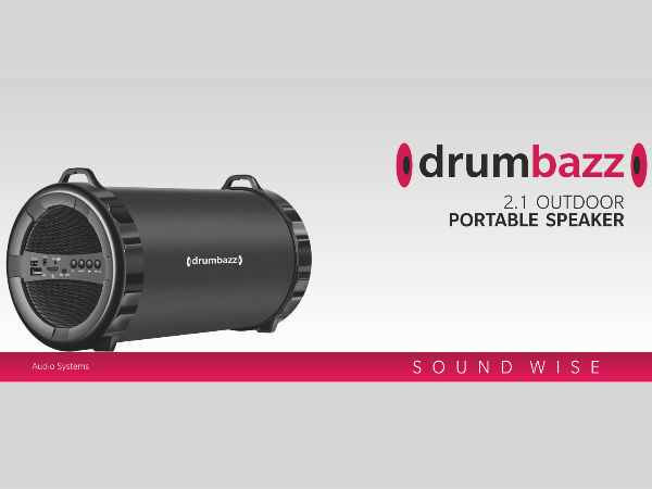 Manzana Drumbazz Bluetooth speakers launched: Specs, features & price