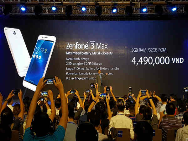 Asus Zenfone 3 Laser, Zenfone 3 Max Announced: Specs, Features & More