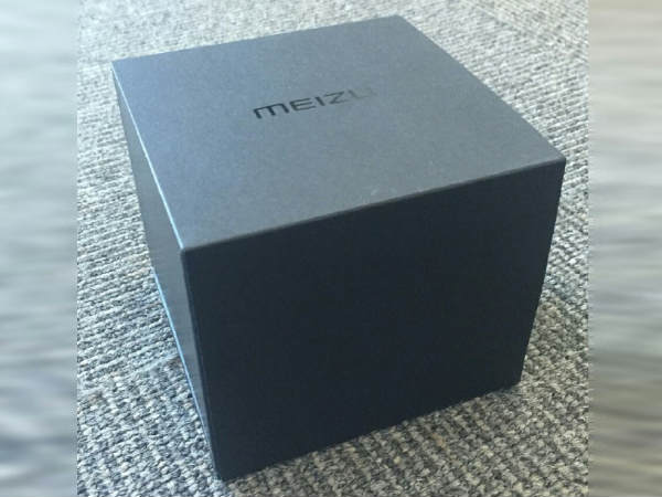 LEAKED: Meizu Smartwatch Box Spotted Online Hints at Imminent Launch