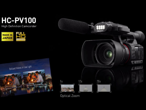Panasonic launches full-HD wedding camcorder