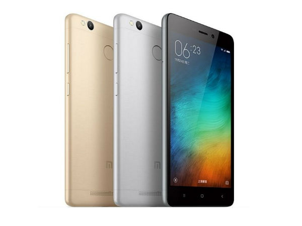 Xiaomi to Launch Redmi 3S Smartphone in India Soon!
