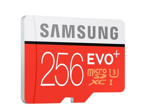 Samsung Launches EVO Plus 256GB MicroSD Card at Rs 12,999