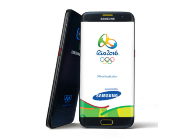 Samsung unveils Rio 2016 Themed Olympics Edition Galaxy S7 and S7 edge