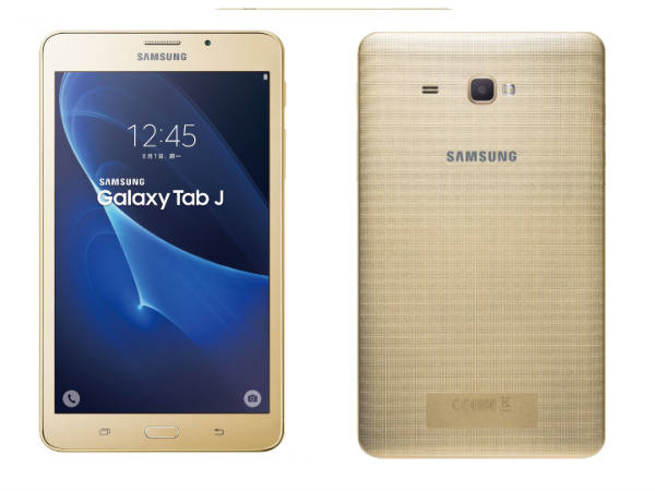 Samsung Galaxy Tab J Announced: Specs, Features, Price, and More