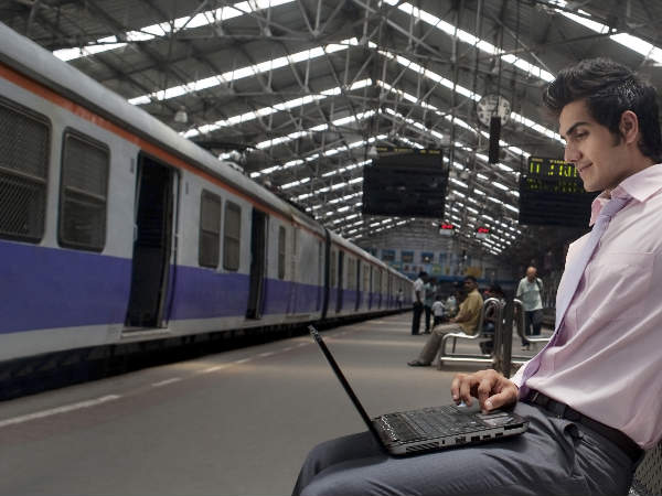 Two mn Indians using high-speed Wi-Fi at 23 railway stations: Google