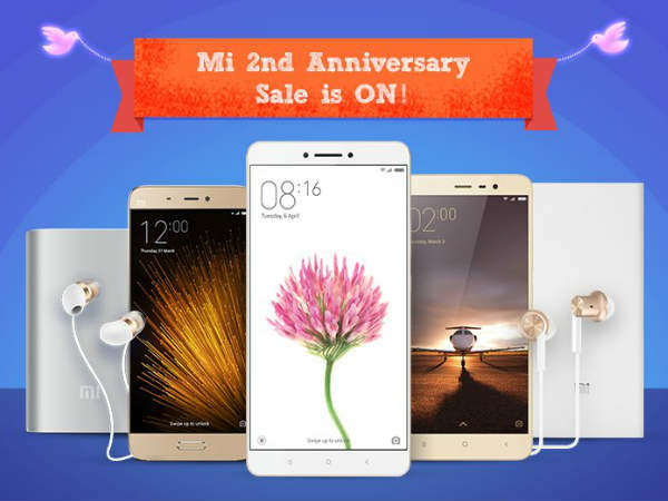 Xiaomi Mi 4, Mi 5 Price Drop and Top 15 Offers on Mi  Anniversary Sale