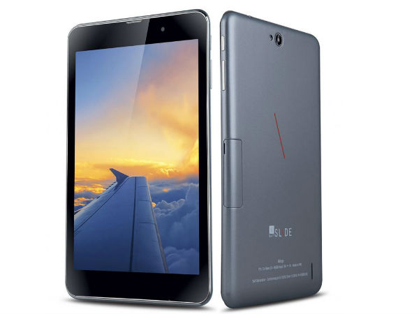 iBall Launches Slide Wings Tablet with Voice Calling Support!