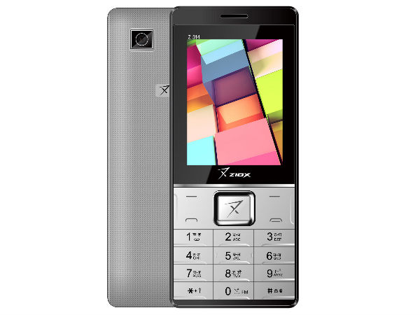 Ziox Mobiles Launches Two Feature Phones at Rs. 1,343 & Rs. 1,443