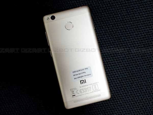 A Stripped Down Version of the Redmi Note 3