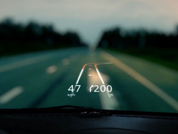 Project a cool augmented reality map on your car's windscreen