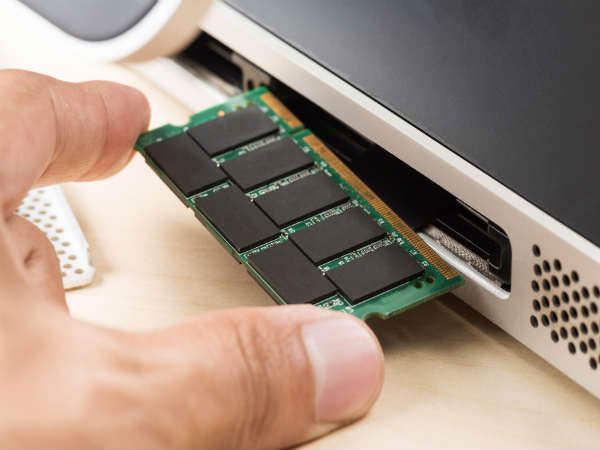 Upgrade your laptop's RAM