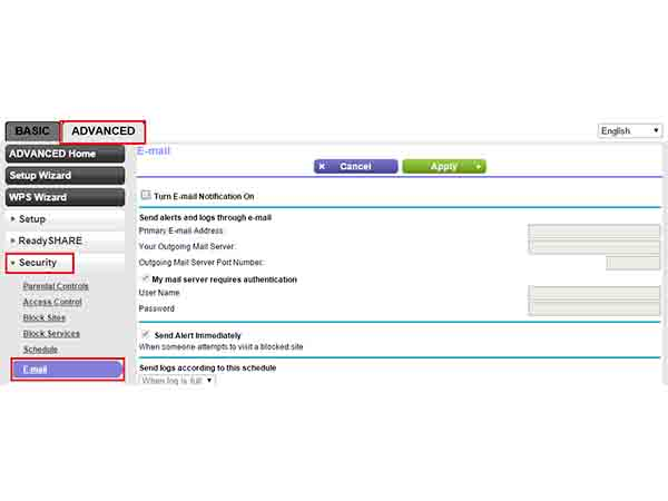 Step 6: Head Over to Security Settings on Router's Gateway