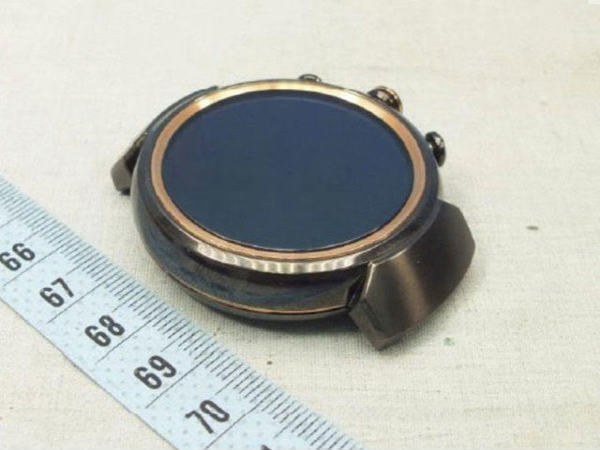 Asus follows other round smartwatch makers