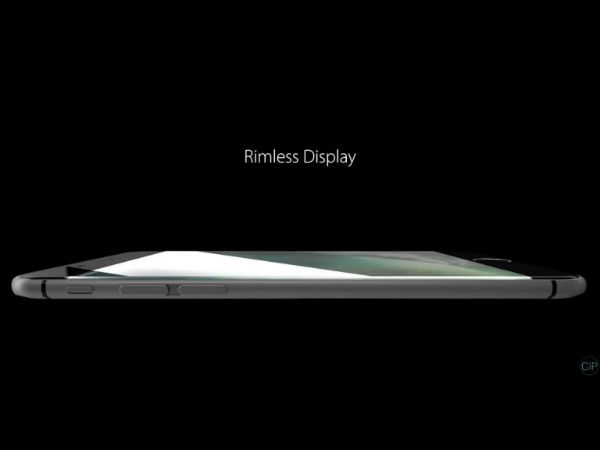Rimless screen concept to turn into reality