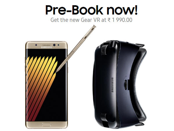 Samsung Galaxy Note 7 Booking At Shop.Samsung