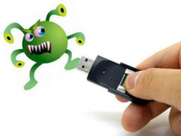 You need to get to know about the Shortcut Virus