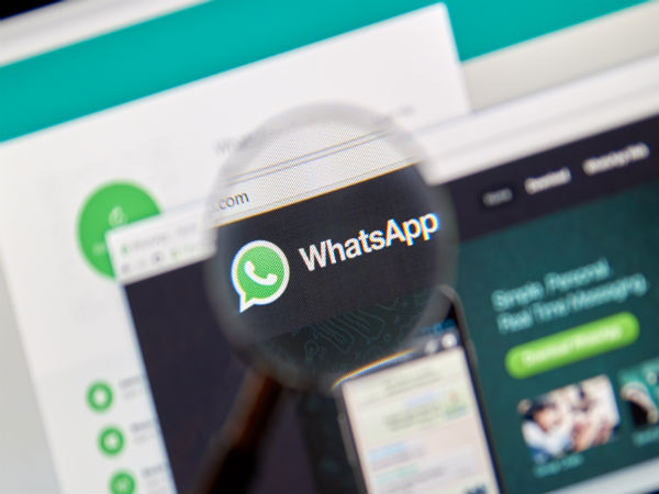 Log on to WhatsApp Web on the second phone