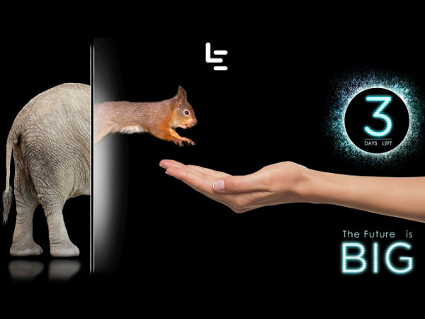 Future is Big: 3 days to go for the LeEco's mystery to unfold