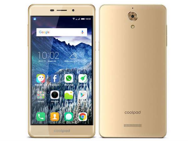 CoolPad Mega 2.5D Smartphone Launched at Rs 6,999