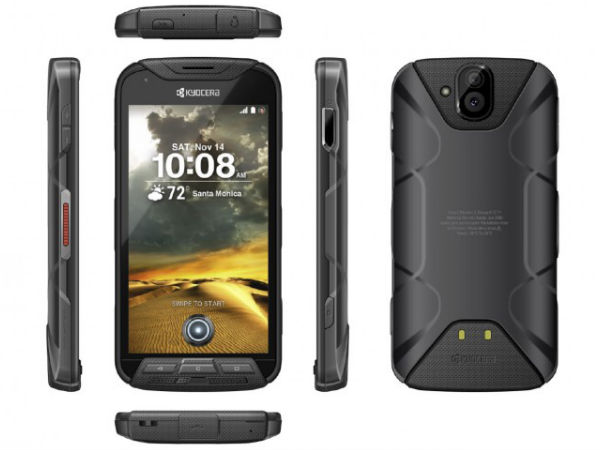 Kyocera's new smartphone doubles up as action camera