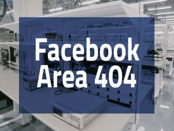 Area 404: Facebook's new initiative for Next-Gen VR, drones