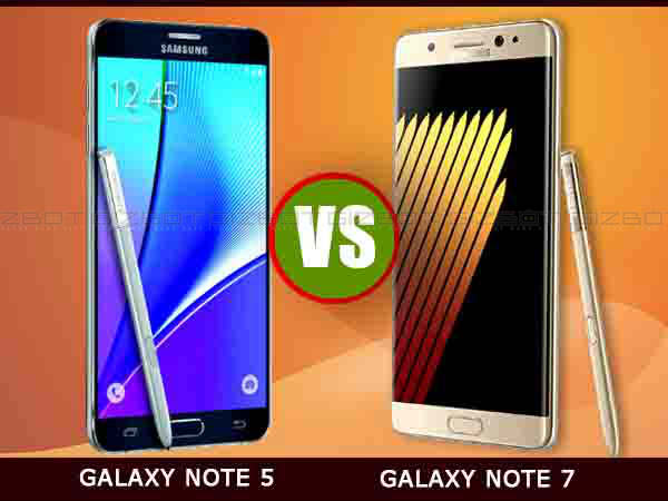 Samsung Galaxy Note 7 vs Galaxy Note 5: List of 10 Major Differences