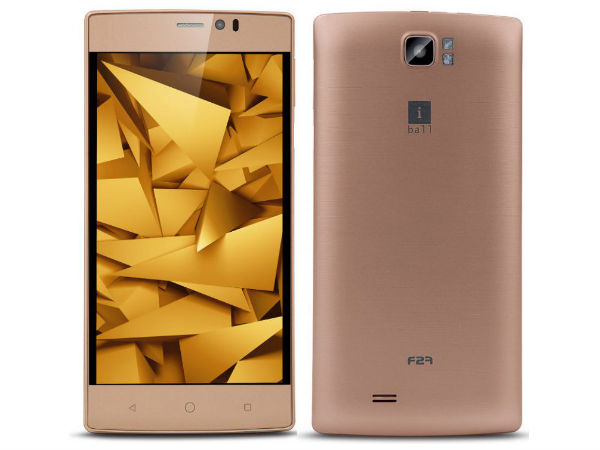 iBall Adds Andi F2F 5.5U Smartphone To Budget Portfolio at Rs. 6,999