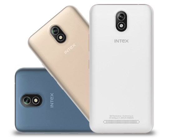 Intex Launches Aqua Strong 5.1 Smartphone in India at Rs 5,599