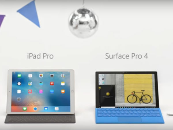 Microsoft mocks Apple's iPad Pro in new Surface ad