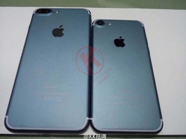 Upcoming iPhone 7 and 7 Plus Leaked in New Images