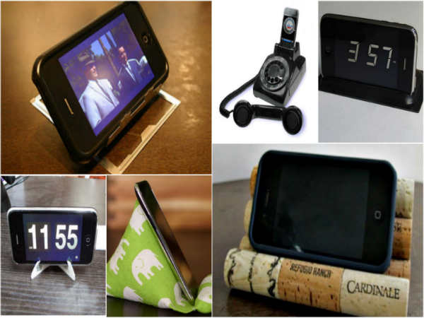 Coolest DIY: 10 iPhone Stands You Can Make At Home