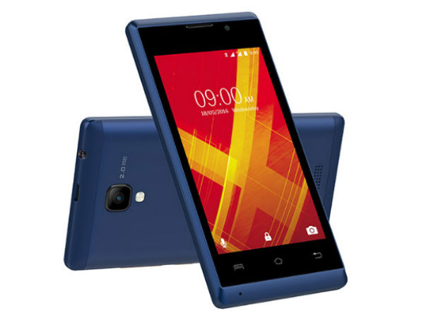 Lava A48 8GB Android smartphone launched for Rs 3,399