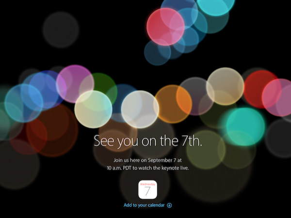 Apple iPhone 7, 7 Plus, Apple Watch 2 Will be Announced on September 7