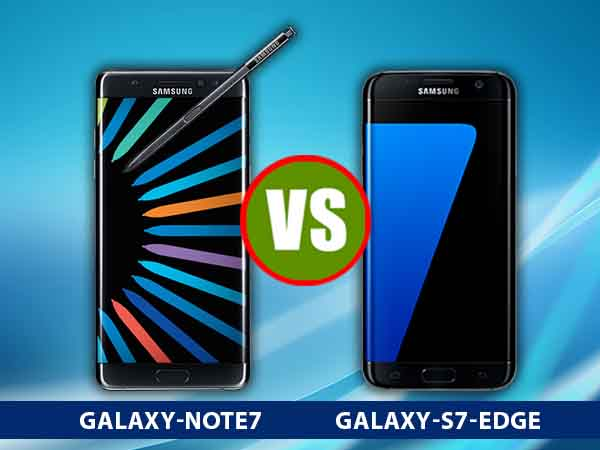 Samsung Galaxy Note 7 vs Galaxy S7 Edge: Phablet or Edge?